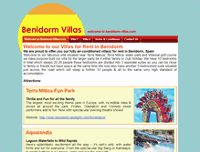 Tablet Preview of benidorm-villas.net
